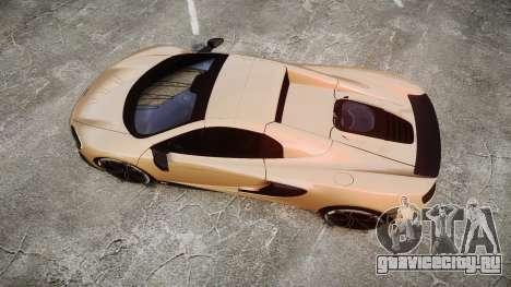 McLaren 650S Spider 2014 [EPM] Pirelli v2 для GTA 4 вид справа