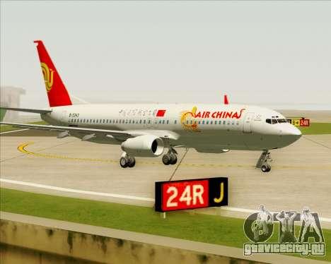 Boeing 737-89L Air China для GTA San Andreas вид слева