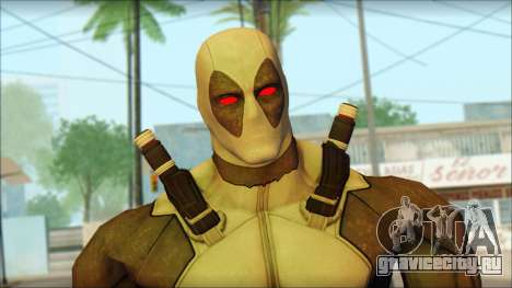 Xforce Deadpool The Game Cable для GTA San Andreas третий скриншот