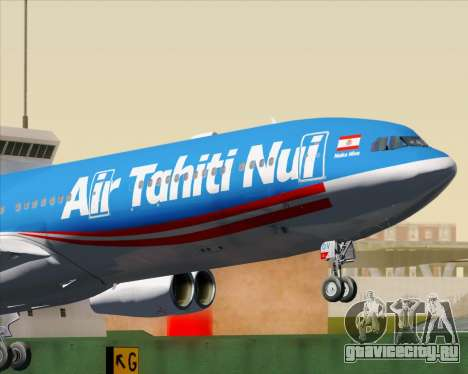 Airbus A340-313 Air Tahiti Nui для GTA San Andreas двигатель