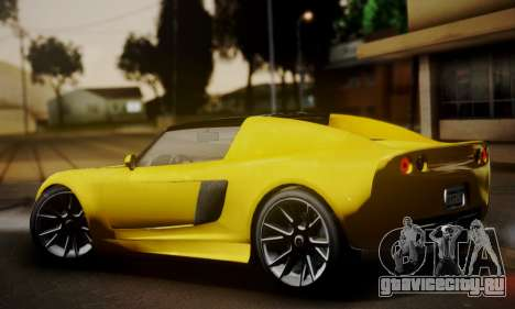 Voltic from GTA 5 (IVF) для GTA San Andreas вид слева