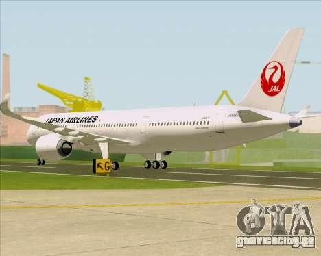 Airbus A350-941 Japan Airlines для GTA San Andreas вид справа