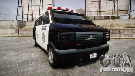Declasse Burrito Police для GTA 4