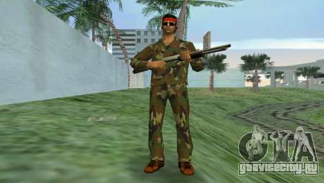 Camo Skin 02 для GTA Vice City