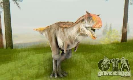 Carnotaurus для GTA San Andreas четвёртый скриншот