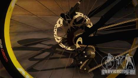 Banshee Rampant Bike для GTA San Andreas вид сзади слева