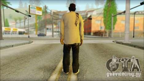 Afro - Seville Playaz Settlement Skin v2 для GTA San Andreas второй скриншот