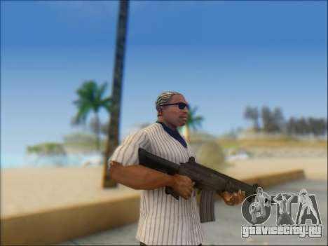 Израильский карабин ACE 21 для GTA San Andreas четвёртый скриншот