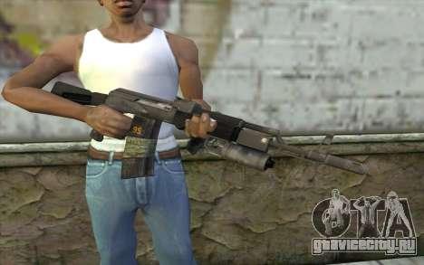 АК-101 с подствольником (Battlefield 2) для GTA San Andreas третий скриншот