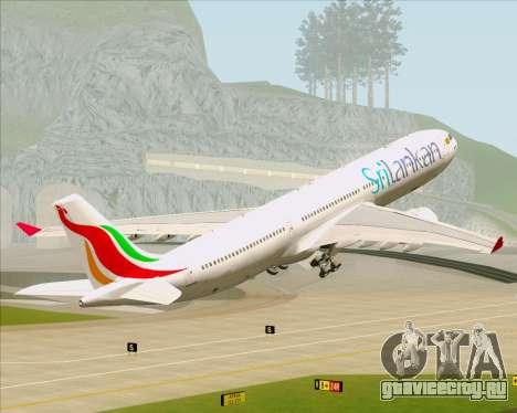 Airbus A330-300 SriLankan Airlines для GTA San Andreas колёса