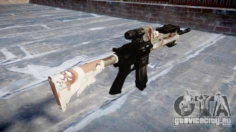 Автоматический карабин Colt M4A1 choco для GTA 4 второй скриншот