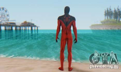 Skin The Amazing Spider Man 2 - Scarlet Spider для GTA San Andreas третий скриншот