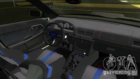 Subaru Impreza WRX STI GC8 Sedan Type 2 для GTA Vice City вид сзади
