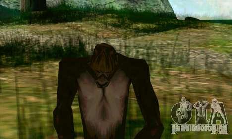 Снежный человек (Bigfoot) на горе Чилиад для GTA San Andreas