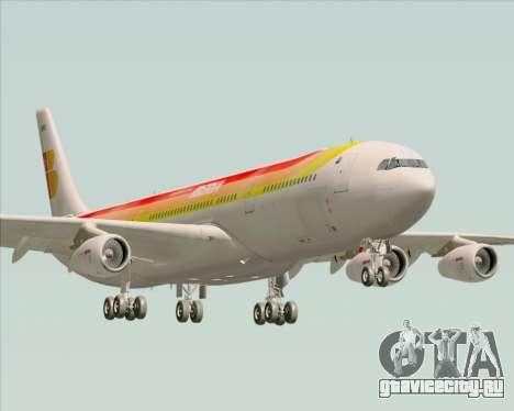 Airbus A340 -313 Iberia для GTA San Andreas