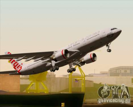 Airbus A330-200 Virgin Australia для GTA San Andreas двигатель