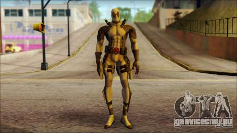 Xforce Deadpool The Game Cable для GTA San Andreas