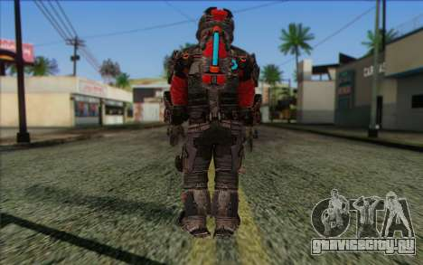 John Carver from Dead Space 3 для GTA San Andreas второй скриншот