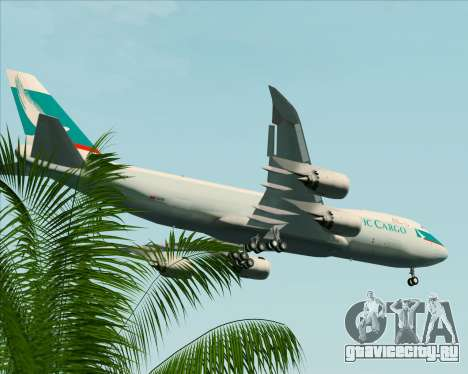 Boeing 747-8 Cargo Cathay Pacific Cargo для GTA San Andreas колёса