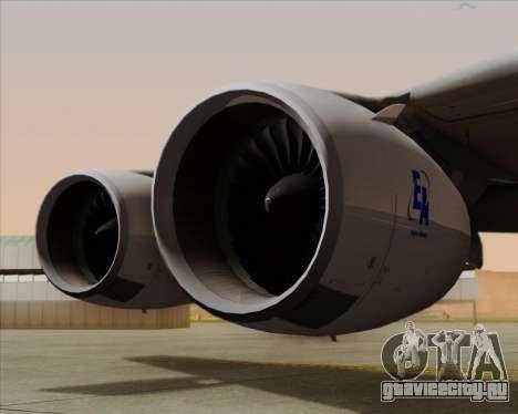 Airbus A380-861 для GTA San Andreas вид сбоку