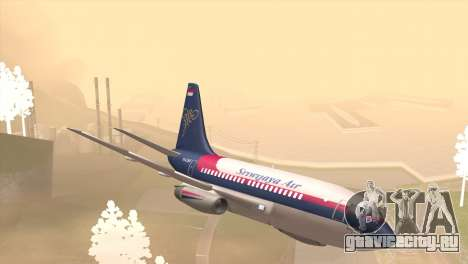 Indonesian Plane Sriwijaya Air для GTA San Andreas