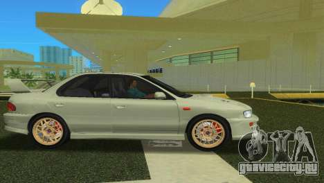 Subaru Impreza WRX STI GC8 Sedan Type 2 для GTA Vice City вид справа