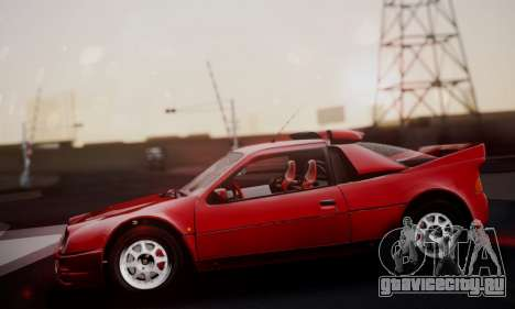 Ford RS200 Evolution 1985 для GTA San Andreas вид сбоку