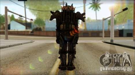 Enclave Tesla Soldier from Fallout 3 для GTA San Andreas второй скриншот
