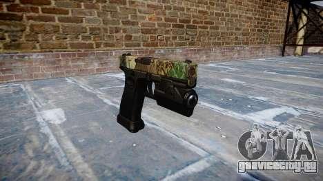 Пистолет Glock 20 ronin для GTA 4