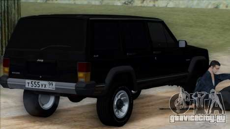 Jeep Cherokee для GTA San Andreas вид слева
