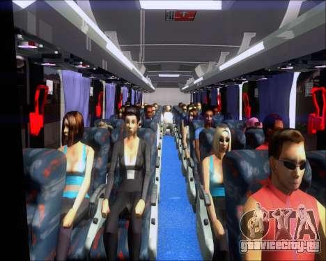 Marcopolo Ideale 770 - Volksbus 17-230 EOD для GTA San Andreas салон
