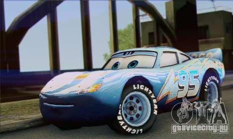 Lightning McQueen Dinoco для GTA San Andreas