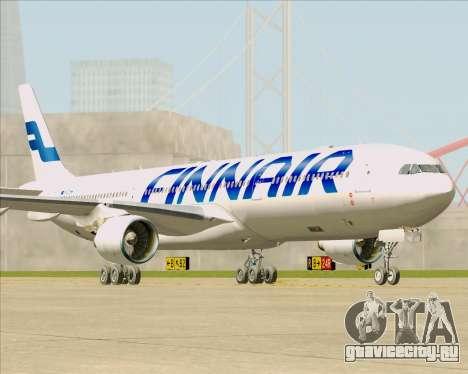 Airbus A330-300 Finnair (Current Livery) для GTA San Andreas вид сзади слева