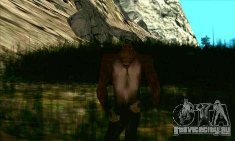 Снежный человек (Bigfoot) на горе Чилиад для GTA San Andreas второй скриншот