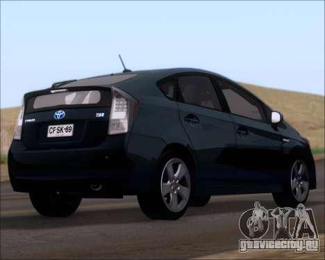 Toyota Prius для GTA San Andreas вид слева