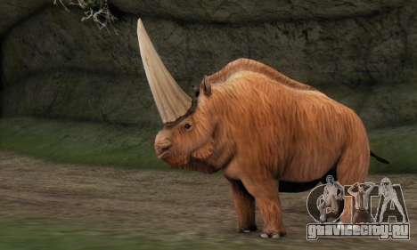 Elasmotherium (Extinct Mammal) для GTA San Andreas