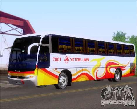 Marcopolo Victory Liner 7001 для GTA San Andreas вид слева