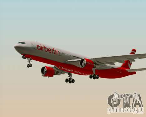 Airbus A330-300 Air Berlin для GTA San Andreas двигатель