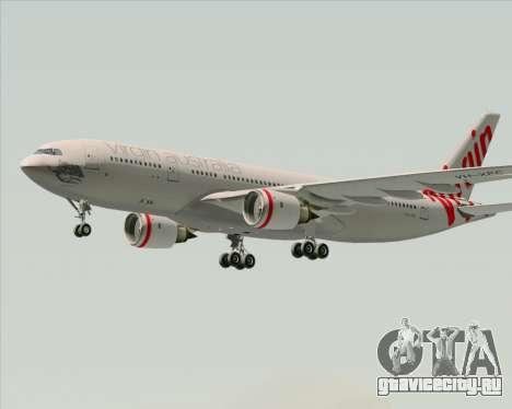 Airbus A330-200 Virgin Australia для GTA San Andreas вид изнутри