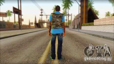 Skin Sicario GTA V By Cesar Hardy для GTA San Andreas второй скриншот