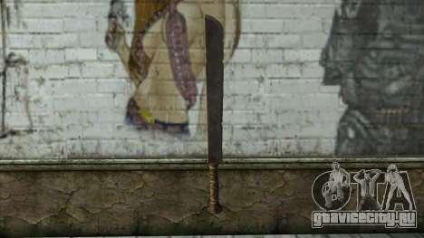 Machete from Assassins Creed 4: Freedom Cry для GTA San Andreas второй скриншот