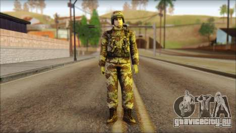 Navy Seal Soldier для GTA San Andreas