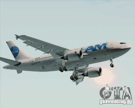 Airbus A310-324 Pan American World Airways для GTA San Andreas вид сзади слева