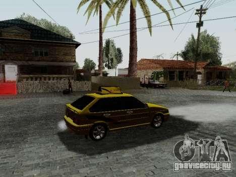 ВАЗ 2114 ТМК Форсаж для GTA San Andreas вид справа