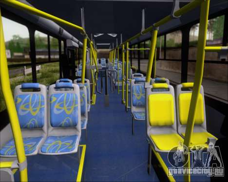 Comil Svelto BRT Scania K310IB 6x2 Sorocaba для GTA San Andreas вид сбоку