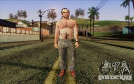 Trevor Phillips Skin v5 для GTA San Andreas