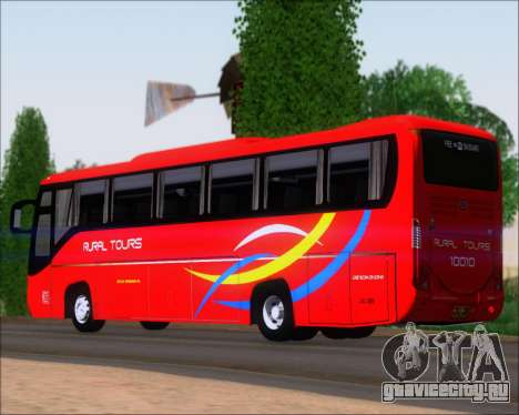 Yanson Viking 4th Generation Rural Tours 10010 для GTA San Andreas вид справа