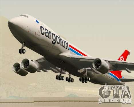 Boeing 747-8 Cargo Cargolux для GTA San Andreas