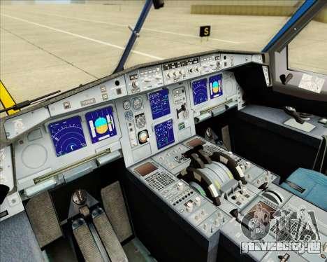 Airbus A340-313 Air Tahiti Nui для GTA San Andreas вид снизу