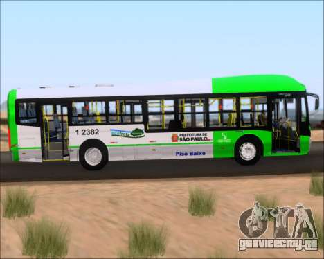 Caio Induscar Millennium BRT Viacao Gato Preto для GTA San Andreas вид изнутри